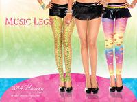 Music Legs ストッキングカタログ